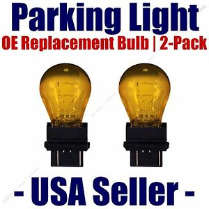 Parking Light Bulb 2-pack OE Replacement Fits Listed Saturn Vehicles - 5702NAK
