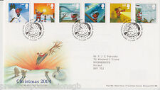 TALLENTS PMK GB ROYAL MAIL FDC FIRST DAY COVER 2004 CHRISTMAS BRIGGS STAMP SET