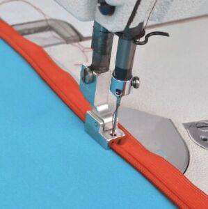 Transparenter nahtverdeckter /& Schmaler Reißverschlussfuß für Pfaff Hobby