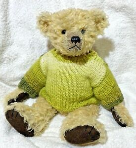 +TEDDY CLOTHES+ new hand knitted jumper to suit a 13.5 inch bear