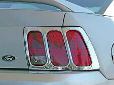 FORD MUSTANG 1999 - 2004 TFP ABS CHROME TAIL LIGHT COVER INSERT