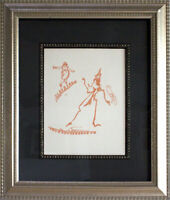 Max ERNST Lithograph ORIGINAL Limited EDITION 1970 ~ Frame Included