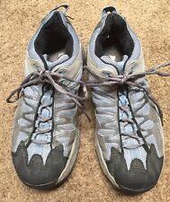 Vasque Womens SZ 9.5 Hiking Boots 7601 Sky Blue Gray Durable
