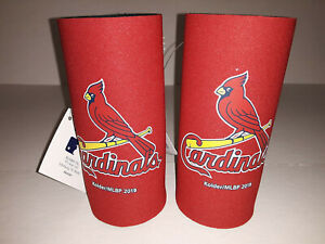 St Louis Cardinals MLB 2 pack Ultra Slim Can Koozie cooler Hugger