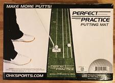Perfect Practice Putting Mat New
