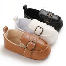 Infant Slip on Boat Shoes Toddler PreWalker Trainers Newborn Baby Boy Crib Shoes
