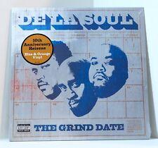 DE LA SOUL The Grind Date BLUE & ORANGE COLOR VINYL 2xLP Sealed 10th Anniversary