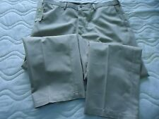 NEW Men's Haggar 38  X 29  Tan Khaki  Dress Pants