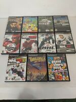 Playstation 2 Game Lot Eleven Games All Complete With Discs And Manuals