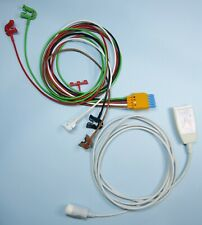 Philips HP M1668A M1973A ECG Monitor TRUNK CABLE with 5 Lead GRABBER