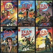Team Yankee Comic Set 1-2-3-4-5-6 Harold Coyle World War 2 WWII WW2 Nuclear War