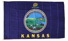 Kansas State Flag 3 x 5 Foot Flag - New 3x5 Higher Quality Ultra Knit Flag