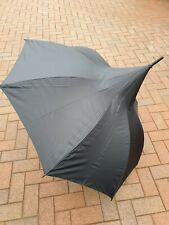 Classic Black Umbrella with Silver Lining by Rob McAlister rrp £45.00