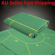 10 Player Folding Felt Rotary Texas Holdem Poker Table Cloth Fietro Board Cloth