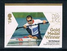 GB 2012 OLYMPIC GOLD MEDAL KAYAK ED McKEEVER 1V S/ADH