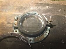 Antique Nautical Salvage Bronze/Brass Porthole #5 With Backing Plate.