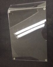"""Store Display Fixtures New Acrylic Angled Display 11"""" Long By 8.75"""" Wide"""