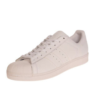 RRP €150 ADIDAS ORIGINALS SUPERSTAR Leather Sneakers EU 51 1/3 UK 15 US 16 Logo