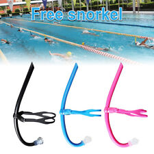 Swimmer's Snorkel Scuba Swimming Diving Snorkels Front Breathing Snorkeling Tube
