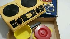 VINTAGE TOY KITCHEN STOVE OVEN COMPLETE Box SOVIET RUSSIA ERA USSR CCCP