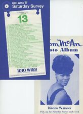 "DIONNE WARWICK Thom McANN ""Photo Album"" (1 page, in series) '65 Radio Survey NM"