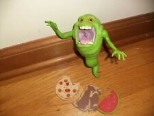 Vtg Kenner The Real Ghostbusters Slimmer Green Ghost 1984 with 3 Original Foods