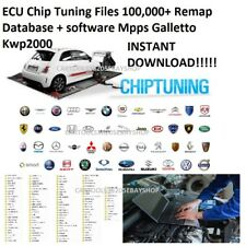 ECU Chip Tuning Files DOWNLOAD 100,000+Remap Database+soft Mpps Galletto Kwp2000