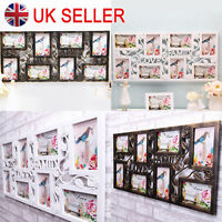 Multi Aperture Photo Picture Frame hold 8-10 Photos Large Multi Picture Photo UK