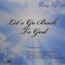 Roy C-Let`s Go Back to God  CD NEW