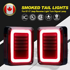 LED Tail Lights Pair Brake Reverse Turn Signal Light for Jeep Wrangler JK 07-UP