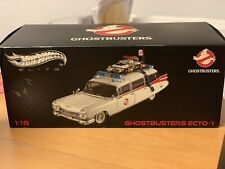 Hot Wheels Elite W1176 1:18 Ecto-1 Ghostbusters 1959 Cadillac Ambulance **NEW**