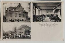 30087 AK Evangelisches Gemeinde-Haus Reichenbach OL bei Zittau 1918 Bahnpost