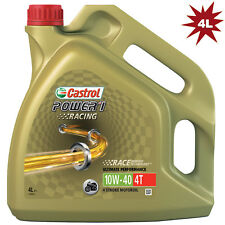 Castrol Power 1 Racing 4T 10W-40 Fully Synthetic Motorcycle Engine Oil - 4 Litre