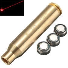 Red Laser Dot 223 Boresighter 223 REM Brass Laser Bore Sight for Rifle Gun Gold