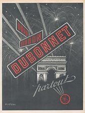 ▬► PUBLICITE ADVERTISING AD DUBONNET Virtel