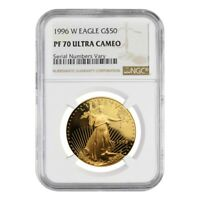 1996 W 1 oz $50 Proof Gold American Eagle NGC PF 70 UCAM