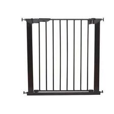 Black 73.5-112,8... BabyDan Premier Pressure-Mounted Door//Stair Gate//Baby Guard