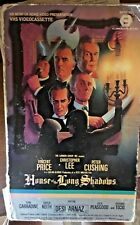 House of the Long Shadows (VHS) Super-rare 1982 all-star horror: Price, Lee, etc