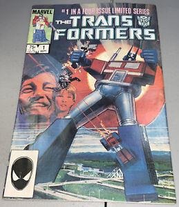 Transformers #1 Marvel 1984 1st App Appearance Autobots & Decepticons