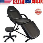 Massage Bed Tattoo Beauty Facial Salon Barber Chair Adjustable Spa Chair Stool