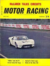 Motor Racing - BRSCC journal - magazine - June 1965