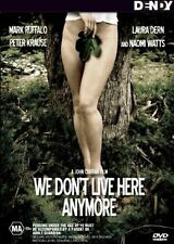 We Don't Live Here Anymore .NAOMI WATTS...MARK RUFFALO...REG 4...NEW & SEALED
