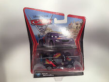 Pixar Cars 2 Movie Max Schnell Germany World Grand Prix Diecast 1:55 Scale