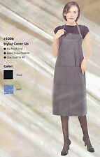 Professional Hair Stylist Cover Up Jean Color Apron Beauty Salon Spa Equipment