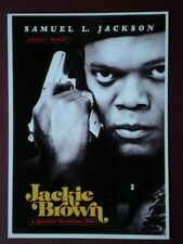POSTCARD L3 L3-2 FILM POSTER 'JACKIE BROWN' SAMUEL L JACKSON