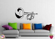 Wall Stickers Vinyl Decal Saxophone Classical Music Jazz Musical Instrumen z1040
