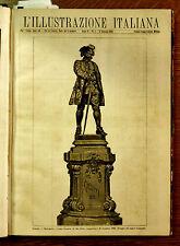 1884,da l'Illustrazione Italiana=VENEZIA, Monumento a Carlo GOLDONI, 20/12/83
