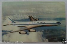 Postcard~ Air France Postcard PM 1955 707 Airliner