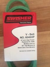Belt 6046/6046HP 47 IN  ZT2452,ZT2460,ZT2560,ZT2766,T-66 SWISHER OEM LAWN MOWER