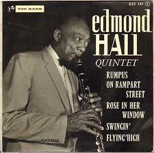 """EDMOND HALL """"RUMPUS ON RAMPART STREET"""" 60'S EP TOP RANK 143 JIMMY RANEY !"""